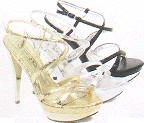 Wholesale spot on fashion high heels sandals, 149-0208, GY footwear wholesaler, 十八.九九