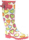Wholesale funky fashion wellingtons, 0111, GY footwear wholesalers, 九.五, 十三.九九, 20kgs